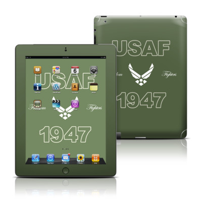 Apple iPad 3 Skin - USAF 1947