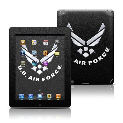 Apple iPad 3 Skin - USAF Black