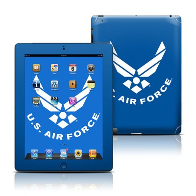 Apple iPad 3 Skin - USAF Blue