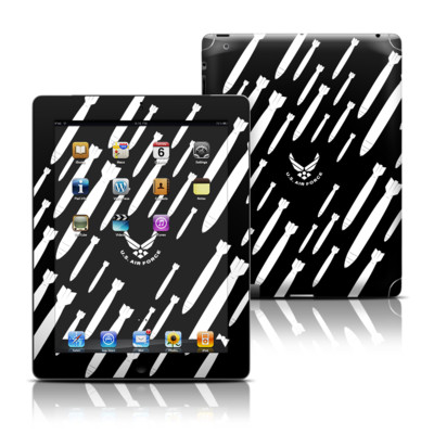 Apple iPad 3 Skin - Bombs Away