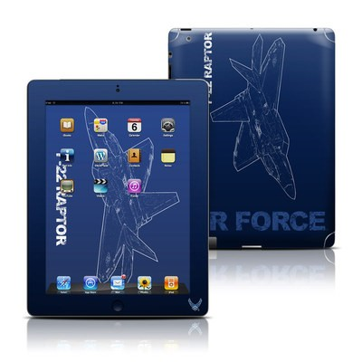 Apple iPad 3 Skin - F-22 Raptor