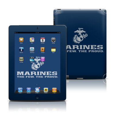 Apple iPad 3 Skin - USMC Blue