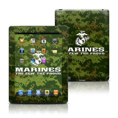 Apple iPad 3 Skin - USMC Camo