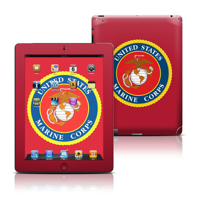 Apple iPad 3 Skin - USMC Red