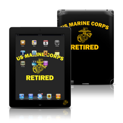 Apple iPad 3 Skin - USMC Retired
