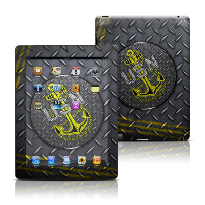 Apple iPad 3 Skin - USN Diamond Plate