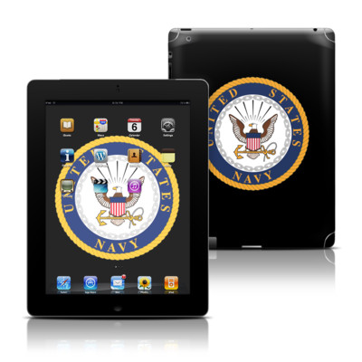 Apple iPad 3 Skin - USN Emblem