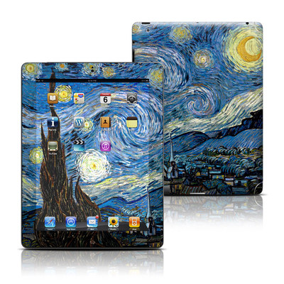 Apple iPad 3 Skin - Starry Night