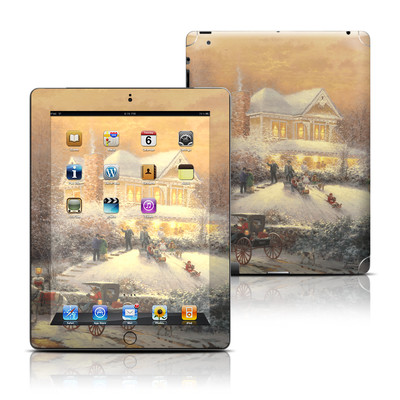 Apple iPad 3 Skin - Victorian Christmas