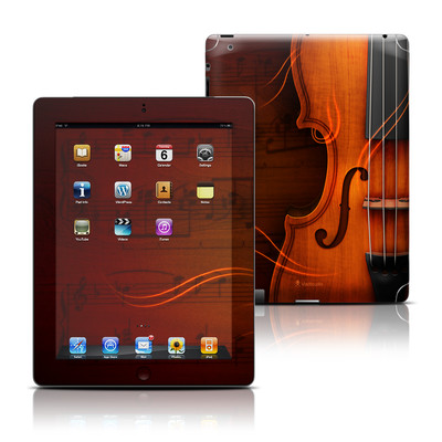 Apple iPad 3 Skin - Violin