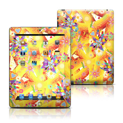 Apple iPad 3 Skin - Wall Flower