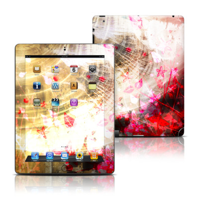 Apple iPad 3 Skin - Woodflower