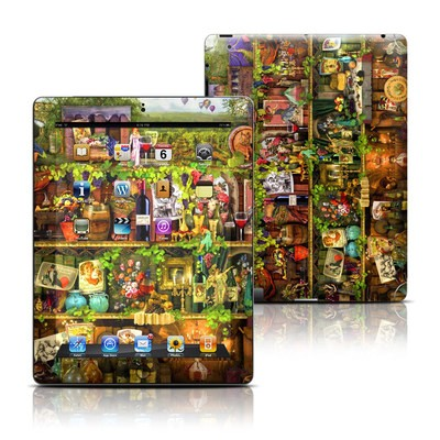 Apple iPad 3 Skin - Wine Shelf