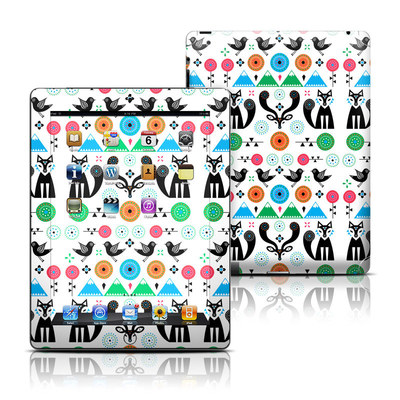 Apple iPad 3 Skin - Winter Forest