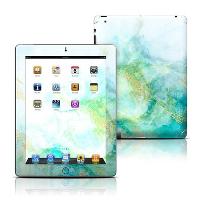Apple iPad 3 Skin - Winter Marble