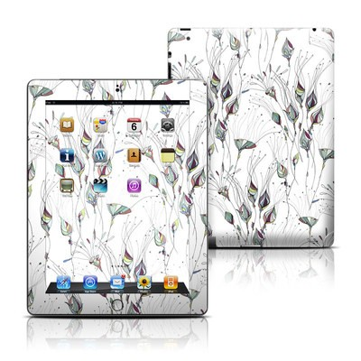 Apple iPad 3 Skin - Wildflowers