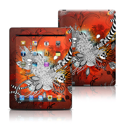 Apple iPad 3 Skin - Wild Lilly