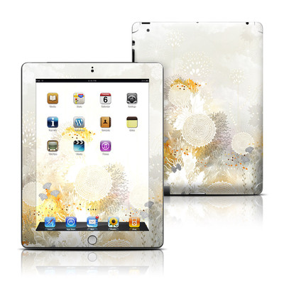 Apple iPad 3 Skin - White Velvet