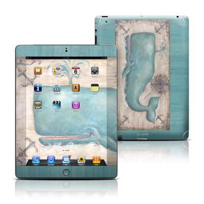 Apple iPad 3 Skin - Whale Watch
