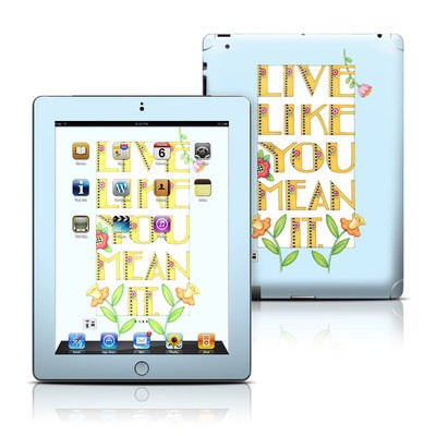 Apple iPad 3 Skin - Mean It