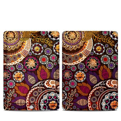 Apple iPad 5th Gen Skin - Autumn Mehndi