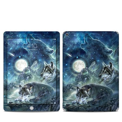 Apple iPad 5th Gen Skin - Bark At The Moon