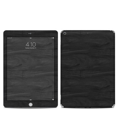 Apple iPad 5th Gen Skin - Black Woodgrain