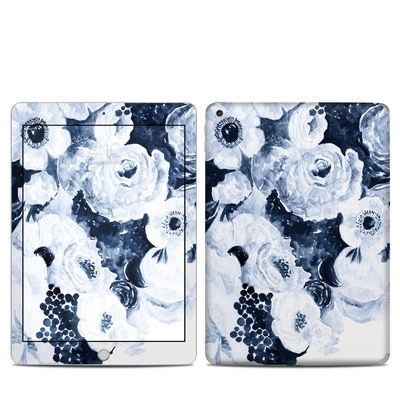 Apple iPad 5th Gen Skin - Blue Blooms