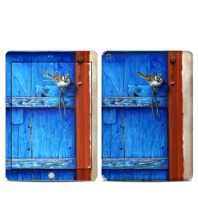 Apple iPad 5th Gen Skin - Blue Door