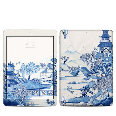 Apple iPad 5th Gen Skin - Blue Willow
