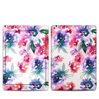 Apple iPad 5th Gen Skin - Blurred Flowers