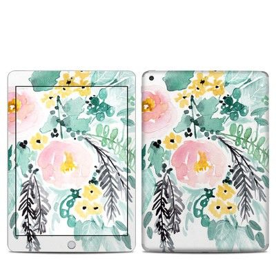 Apple iPad 5th Gen Skin - Blushed Flowers