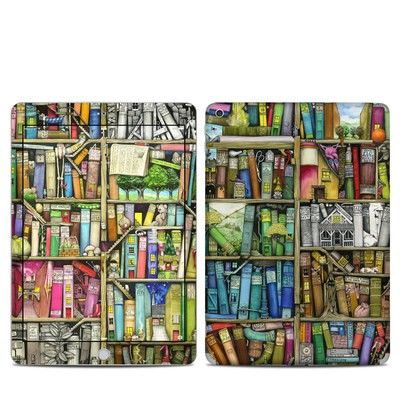 Apple iPad 5th Gen Skin - Bookshelf