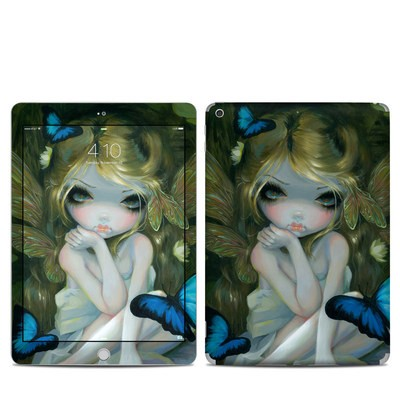 Apple iPad 5th Gen Skin - Butterfly Lily