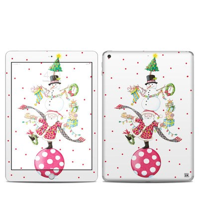Apple iPad 5th Gen Skin - Christmas Circus