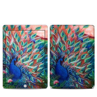 Apple iPad 5th Gen Skin - Coral Peacock