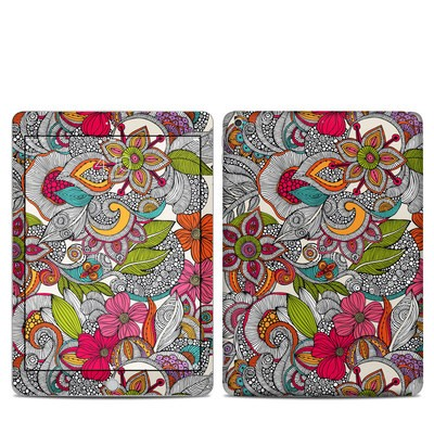 Apple iPad 5th Gen Skin - Doodles Color