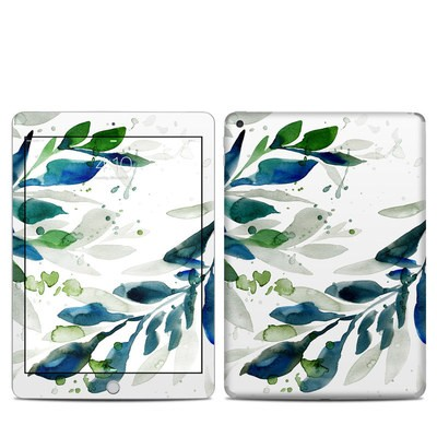 Apple iPad 5th Gen Skin - Floating Leaves
