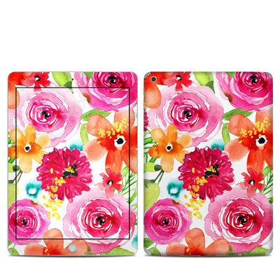 Apple iPad 5th Gen Skin - Floral Pop