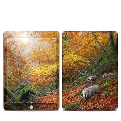 Apple iPad 5th Gen Skin - Forest Gold