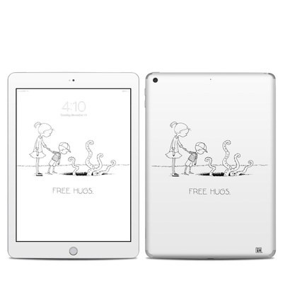 Apple iPad 5th Gen Skin - Free Hugs