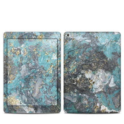 Apple iPad 5th Gen Skin - Gilded Glacier Marble