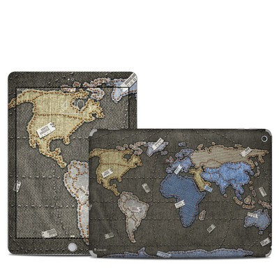 Apple iPad 5th Gen Skin - Jean Map