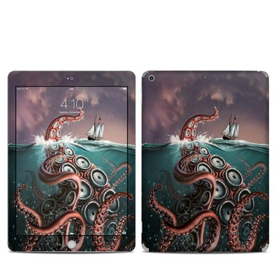 Apple iPad 5th Gen Skin - Kraken