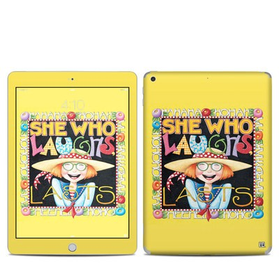 Apple iPad 5th Gen Skin - She Who Laughs