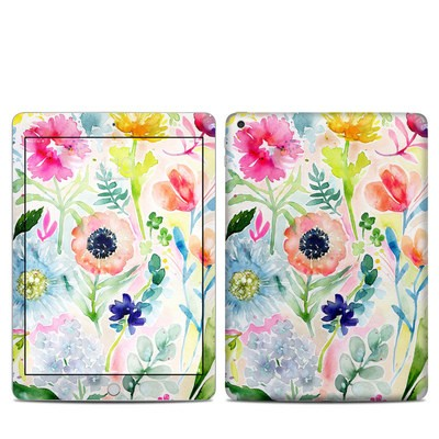 Apple iPad 5th Gen Skin - Loose Flowers