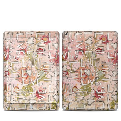 Apple iPad 5th Gen Skin - Love Floral