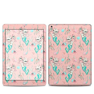 Apple iPad 5th Gen Skin - Merkittens with Pearls Blush