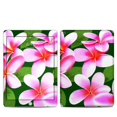 Apple iPad 5th Gen Skin - Pink Plumerias