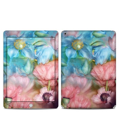 Apple iPad 5th Gen Skin - Poppy Garden